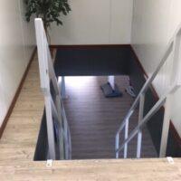 Stalen trap