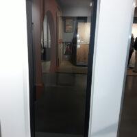 Steel Look deur - 1 ruit