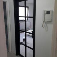 Steel Look deur - 8 ruit